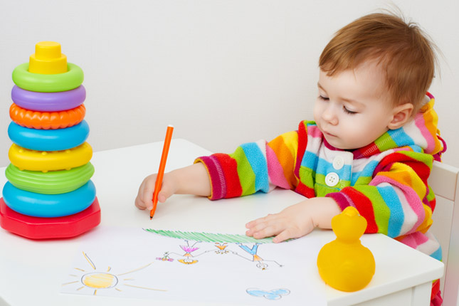 Montessori Learning Environment for Baby