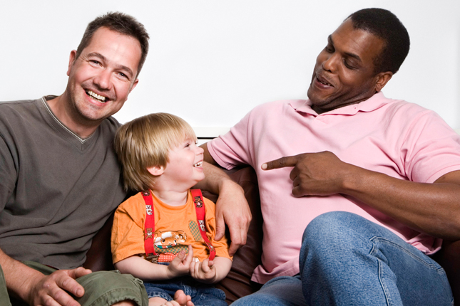 """children with gay lesbian parents will they Gay and lesbian parents are no different advertisement that discomfort with complexity explains the impulse to declare one gender """"missing"""" in same-sex couples."""
